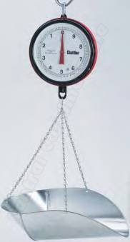 20 lb. chatillon century 7 hanging dial scale with cg scoop